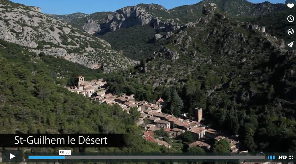 Balade vidéo sur les plus beaux sites du Languedoc