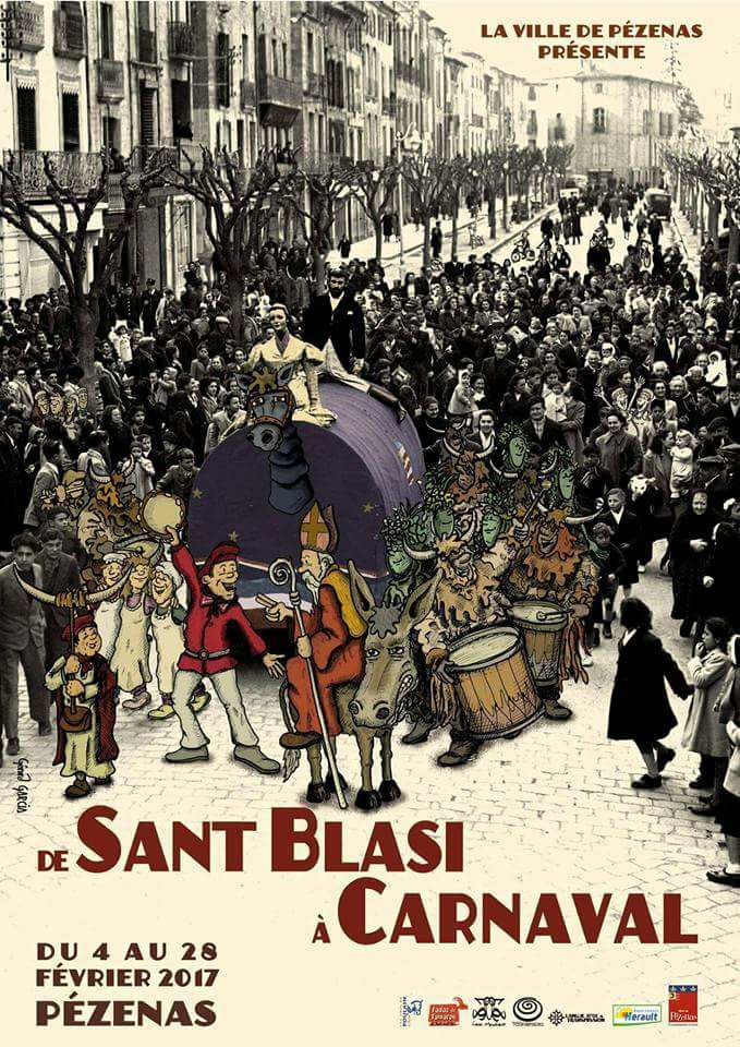 saint blaise et carnaval à Pezenas