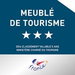 meuble tourisme 3 étoiles pézenas