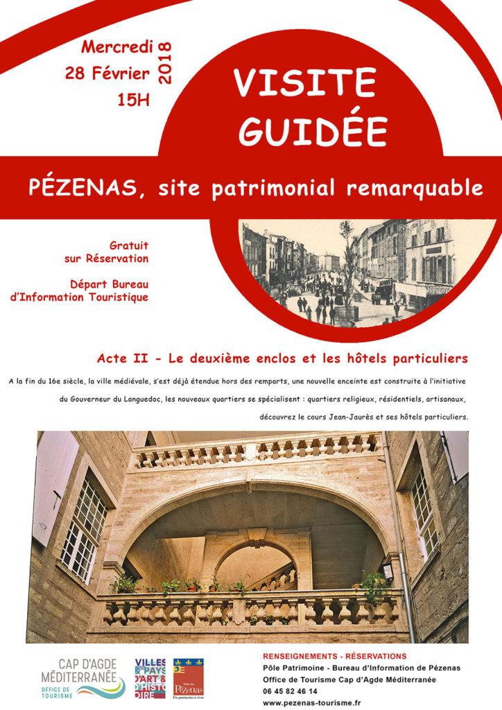 visite gratuite de pezenas patrimoine