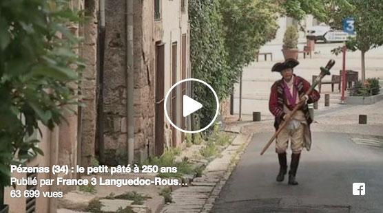 L'histoire et la recette officielle du petit pâté de Pézenas en vidéo